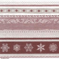 Zimní bordury 33x33