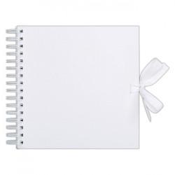 Album se spirálou 30,5x30,5cm/40 listů, bílé