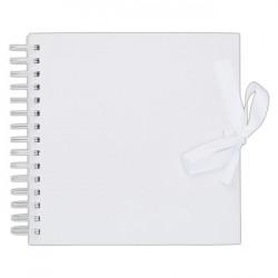 Album se spirálou 20,3x20,3cm/40 listů, bílé
