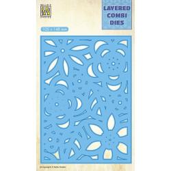 Vyřezávací šablona Layered Combi Dies - květiny C