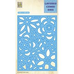 Vyřezávací šablona Layered Combi Dies - květiny B