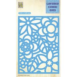 Vyřezávací šablona Layered Combi Dies - květiny A