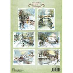 Nellie Vintage A4 - vánoční čas 5