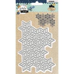 Vyřezávací šablona - Winter Joys nr.231 (SL)