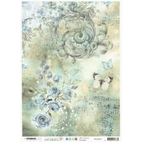 Papír rýžový A4 Jenine's Mindful Art (SL)