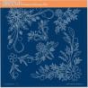 Akrylová deska - květinové spirály, rohy (GP)