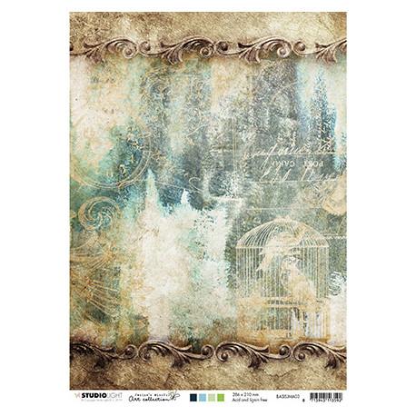 Scrap.papír oboustranný A4 Jenine nr.03 (SL)