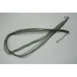 Stužka se zapínáním 45cm zelená