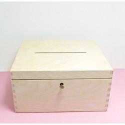 Krabice na vhazování obálek s klíčkem