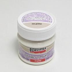 Decoupage lepidlo + lak matný 50ml, (Pentart)