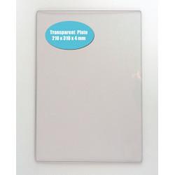 Transp. akrylová přítlačná deska A4 4mm pro PressBoss