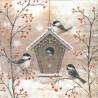 Krásná ptačí budka 33x33