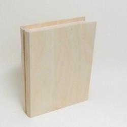 Krabička knížka se zavíráním na kolíček