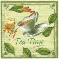 Tea Time 33x33