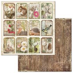Forest, 12 visaček 30,5x30,5 scrapbook