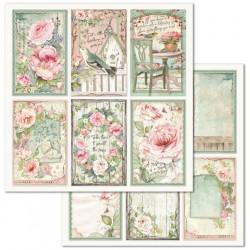 House Of Roses,6 kartiček 30,5x30,5 scrapbook