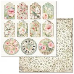 House Of Roses, visačky a kruhy 30,5x30,5 scrapbook