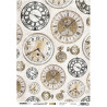 Papír rýžový A4 Jenine, clock (SL)