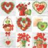 Milující srdce 33x33