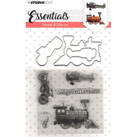 Vyřezávací šablony a razítka - Essentials nr.14