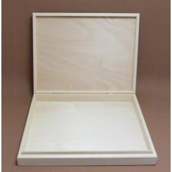 Dřevěná krabička na A4 bez zámečku
