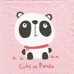 Roztomilá panda 33x33