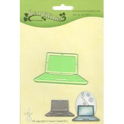 Vyřezávací šablona - Laptop (LC)