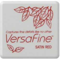 Versafine small - Satin Red