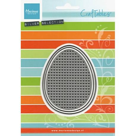 Vyřezávací šablony - Vyšívací mřížka, vejce (MD)