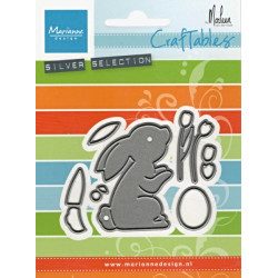 Vyřezávací šablony - Velikonoční zajíček (MD)