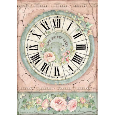 Papír rýžový A4 House of Roses, hodiny