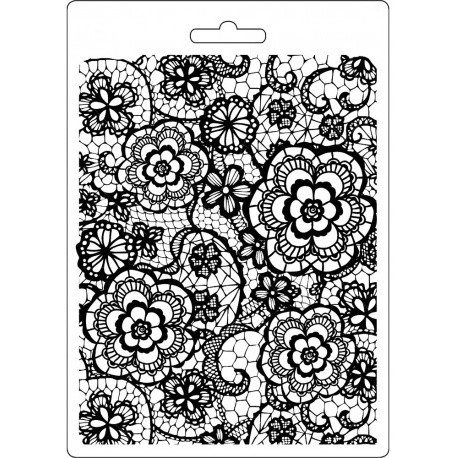Forma A5 Imagine, Květinové pozadí (Stamperia)