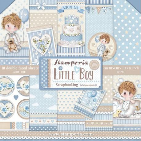 Sada papírů 30,5x30,5 190g Little Boy