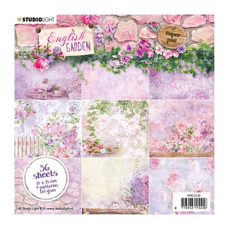 Sada papírů 15x15 English Garden nr.135 (SL)