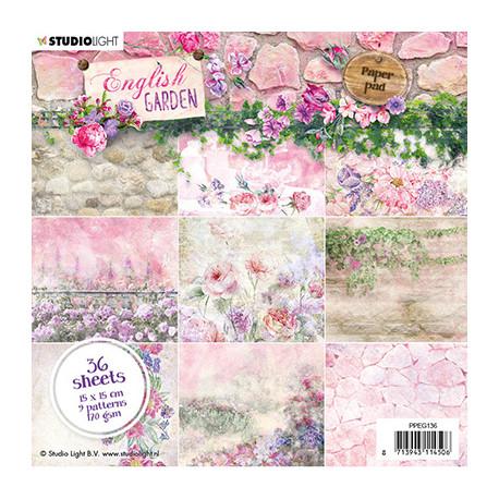 Sada papírů 15x15 English Garden nr.136 (SL)