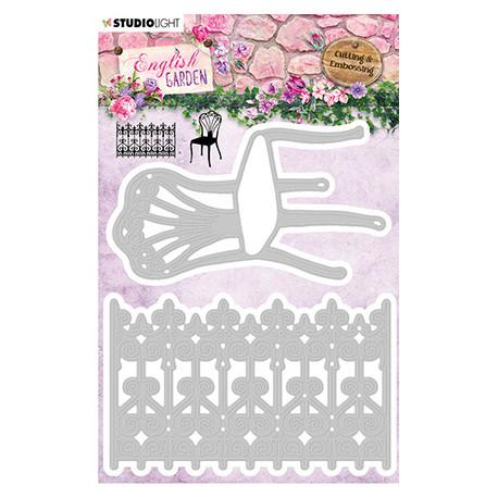 Vyřezávací šablony - English Garden nr.236 (SL)