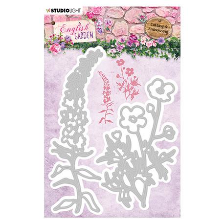 Vyřezávací šablony - English Garden nr.238 (SL)