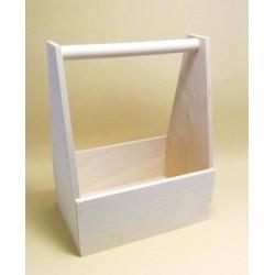 Dřevěný nosič lahví