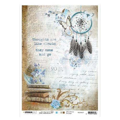 Papír rýžový A4 Jenine's Mindful Art nr.07 (SL)