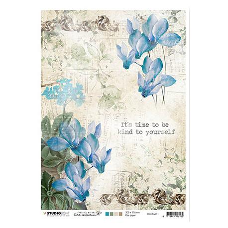 Papír rýžový A4 Jenine's Mindful Art nr.11 (SL)