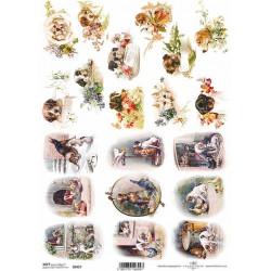 Papír soft A4 Malé obrázky se štěňátky