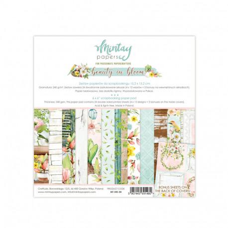 Sada papírů Beauty in Bloom 15x15 (MT)