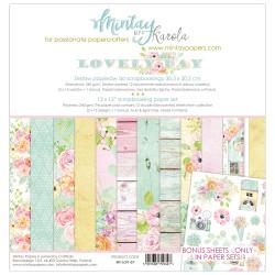 Sada papírů Lovely Day 30,5x30,5 240g (MT)