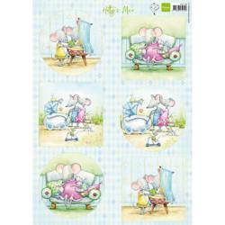 Papír A4 Hetty's mice baby (MD)