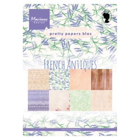 Sada papírů A5 French Antiques (MD)