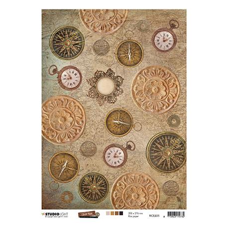 Papír rýžový A4 Just Lou Exploration Collection nr.05 (SL)