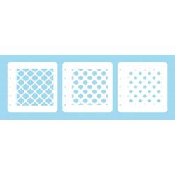 Set 3ks šablon k vrstvení - ovály (Nellie´s Choice)