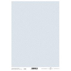 Scrap.papír A4 Modrý s bílými body