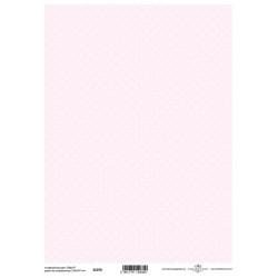 Scrap.papír A4 Celoplošný, puntíky na růžové