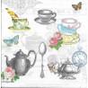 Mix šálků a konvic na čaj 33x33